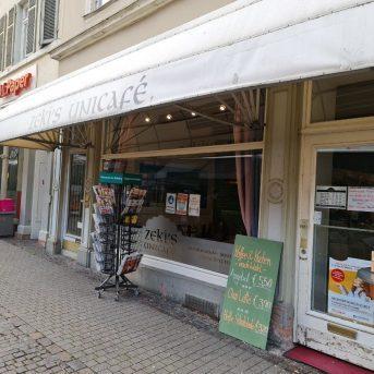 Bild der Dankstelle Zeki's Unicafe