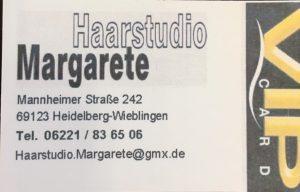 Logo der Dankstelle Haarstudio Margarete