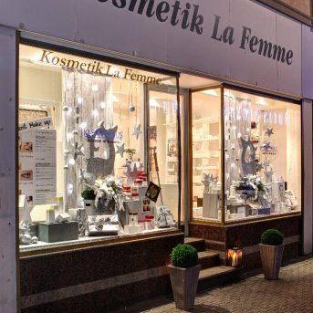 Bild der Dankstelle Kosmetik La Femme