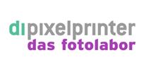 Logo der Dankstelle dipixelprinter das Fotolabor
