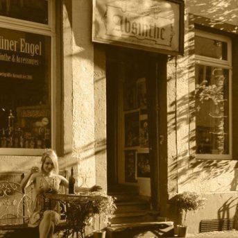 Bild der Dankstelle Galerie Grüner Engel – der Absintheladen