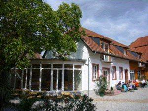 Logo der Dankstelle Landcafé Gästehaus Walnuss