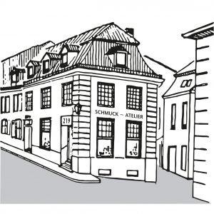 Logo der Dankstelle Schmuckatelier Mämecke & Rauen, Inh. Julia Rauen