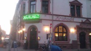Logo der Dankstelle Restaurant und Hotel Krokodil