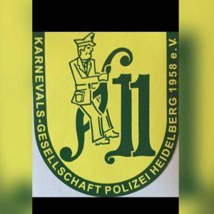 Logo der Dankstelle Karnevalsgesellschaft Polizei Heidelberg 1958 e.V.