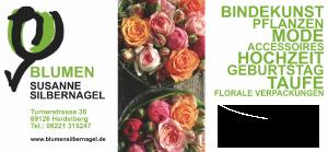 Logo der Dankstelle Blumen Susanne Silbernagel