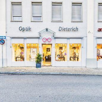 Bild der Dankstelle Optik Dieterich