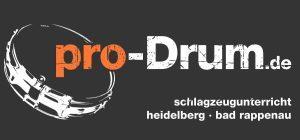 Logo der Dankstelle pro-Drum Schlagzeugunterricht Heidelberg